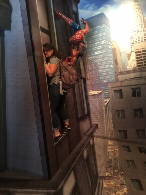 madame tussauds wax museum amsterdam spiderman