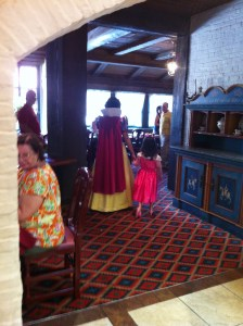 akershus royal banquet hall, epcot, snow white