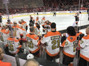 flyers 50th anniversary alumni game