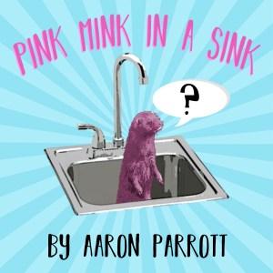 pink mink in a sink