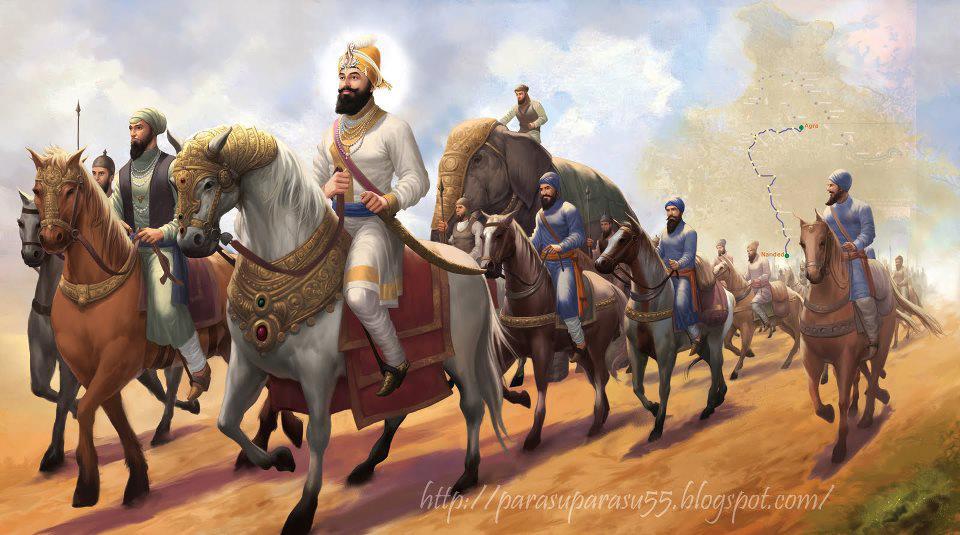 Ek Onkar Hd Wallpaper Guru Gobind Singh Ji Art Paint S