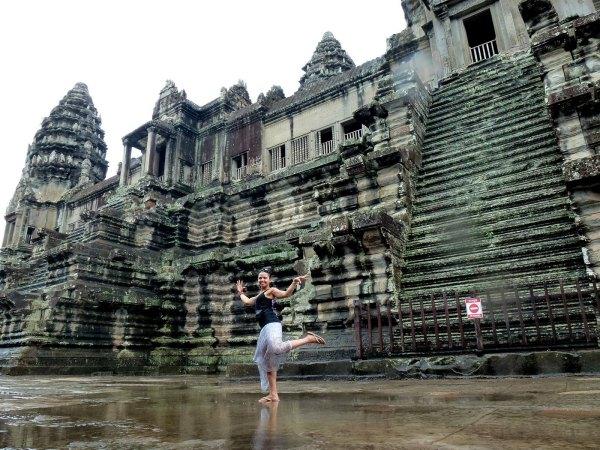 Angkor Wat, Cambodia -- Karina Noriega