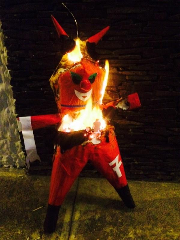 Burning the Devil -- Karina Noriega