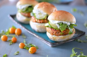 Asian Salmon Sliders 2