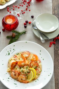 Seafood Risotto without wine
