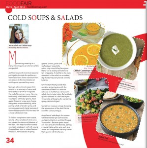 Food Fair magazine article