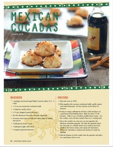 Mexican Cocadas in Western Horse and Gun April May 2016 Issue