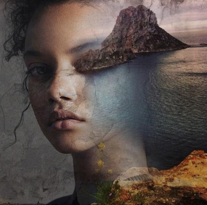 Black Girl Artwork Wallpaper Illusions Antonio Mora Karma