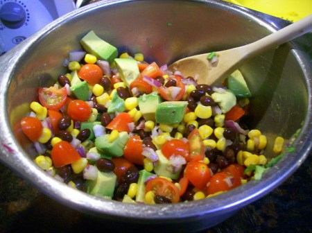 Quinoa Corn Bean Salad