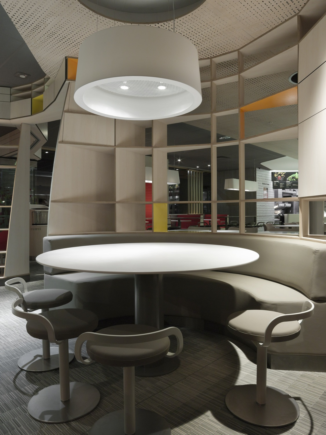 Interiors France Mcdonalds Interiors In France By Patrick Norguet