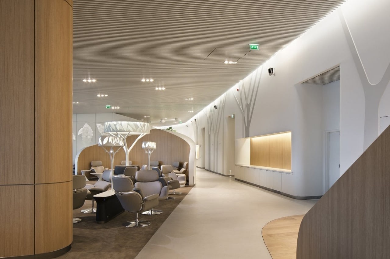 Salon Air France Cdg Air France Business Lounge By Noé Duchaufour Lawrance And