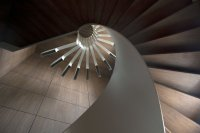Spiral Staircase Lighting by .PSLAB | KARMATRENDZ