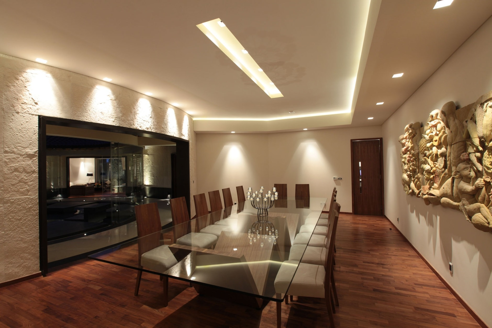 Luxurious Dining Rooms Casa Lc By Art Arquitectos Karmatrendz