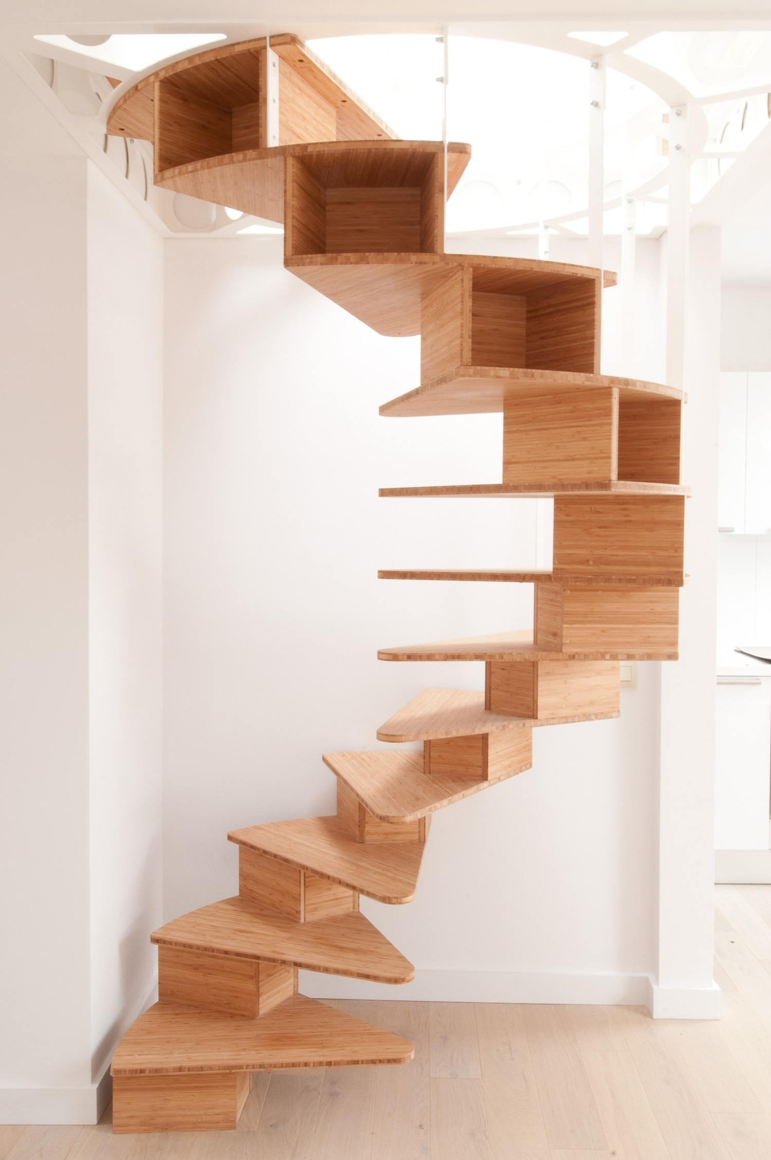 Staircase Designs For Small House Olmo Spiral Staircase By Jo A Karmatrendz