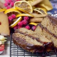 Łatwy piernik z powidłami i test wagi firmy Sencor / Easy gingerbread with plum jam