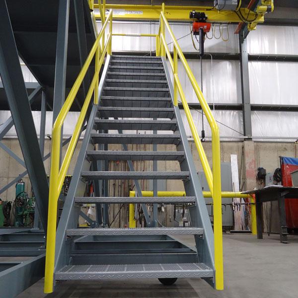Fabricated Metal Stairs Custom Industrial Stairs