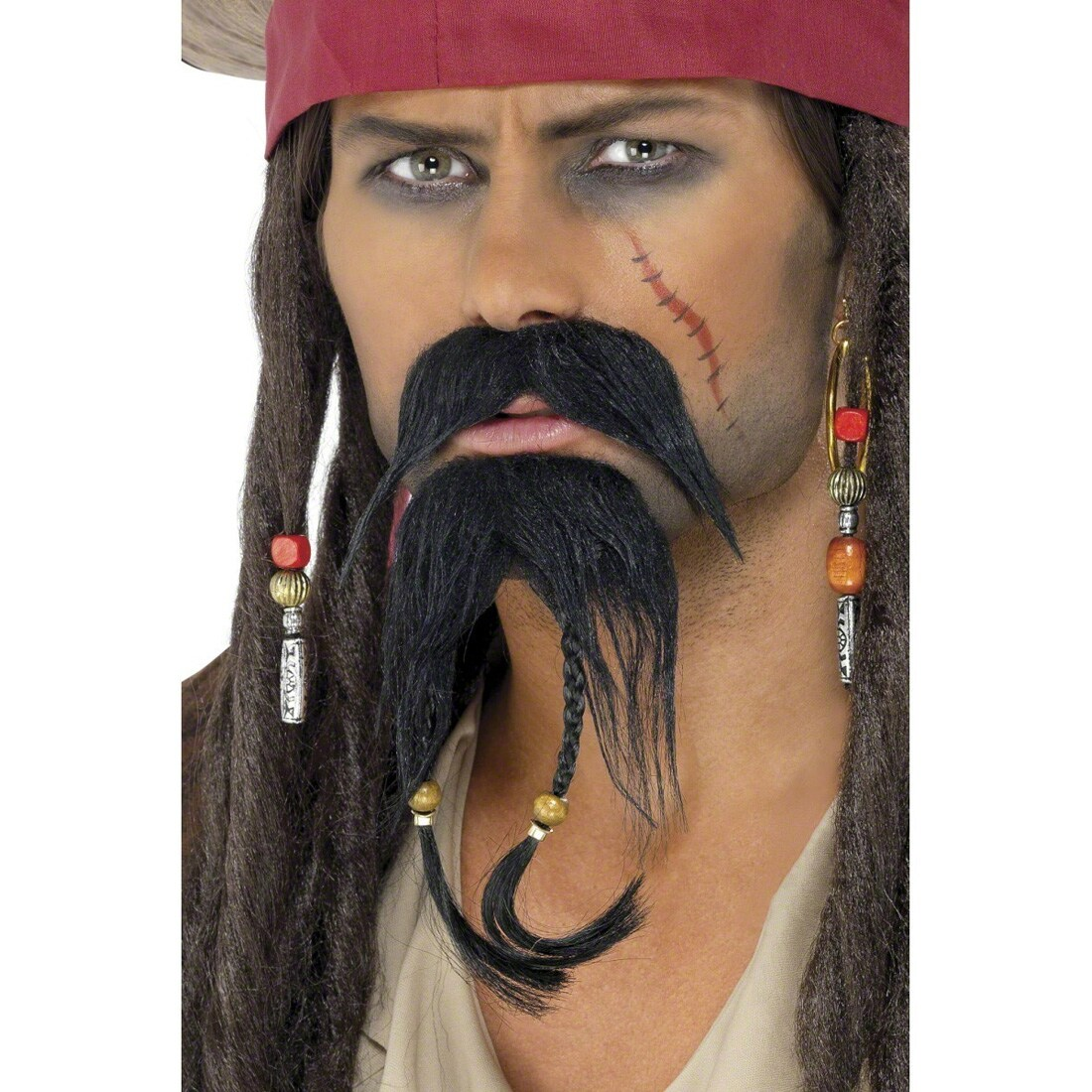Piraten Bart Bart Set Pirat Jack Sparrow Piratenset 5 95