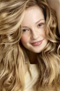 Blondes haar frben