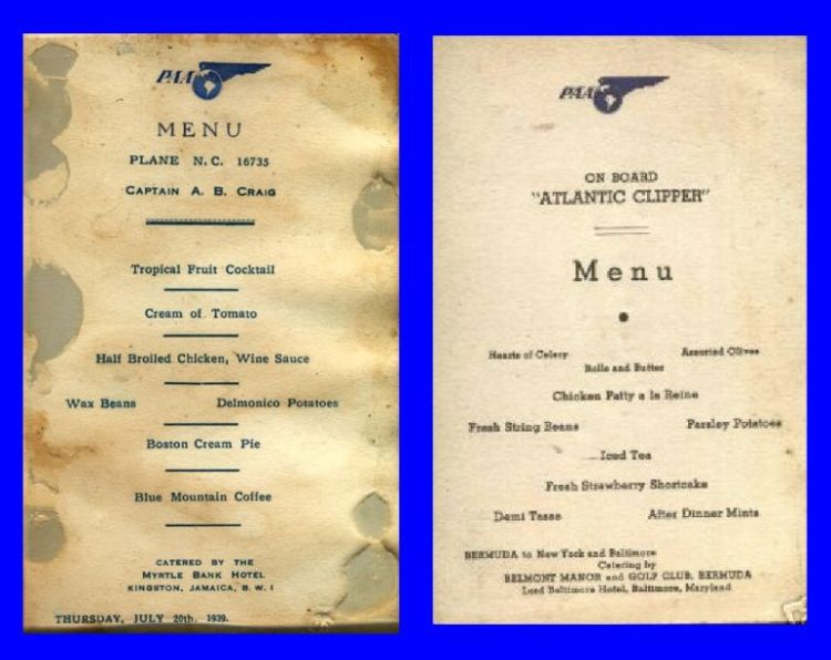 Tbt This Is How Amazing First Class Airplane Food Used To