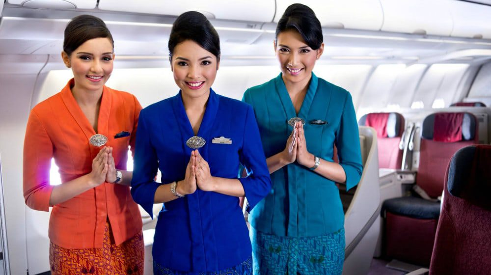 Where To Find The World S Best Cabin Staff Try Garuda