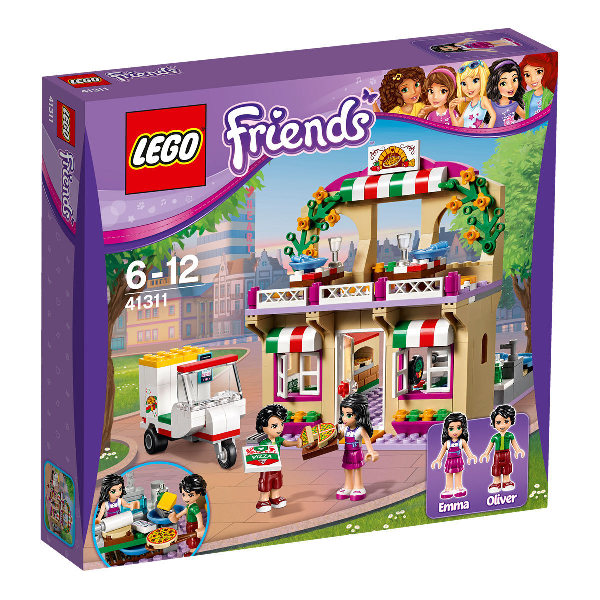 Lego Küche Bauen Friends 41311 Heartlake Pizzeria
