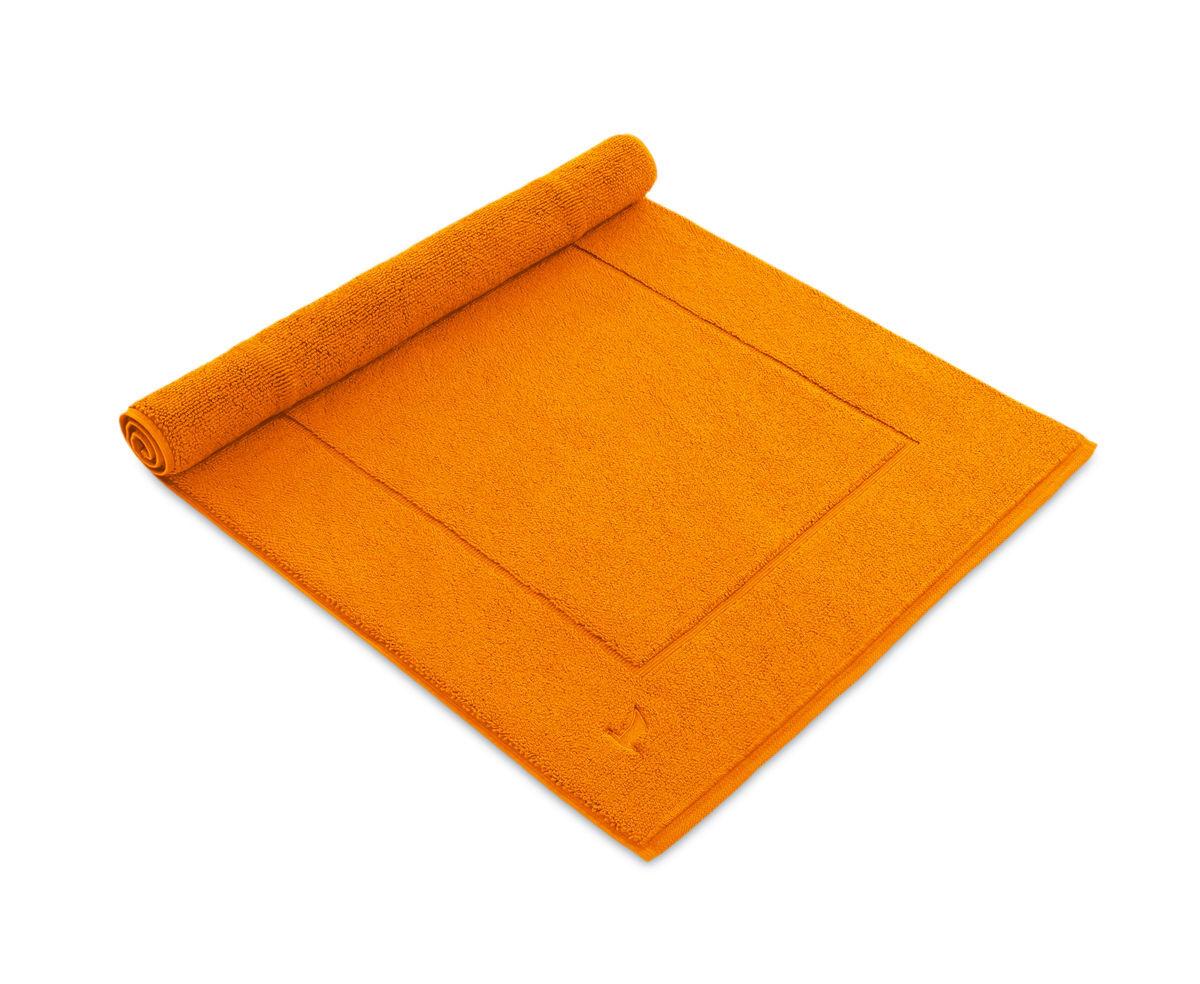 Badteppich Orange Badteppich
