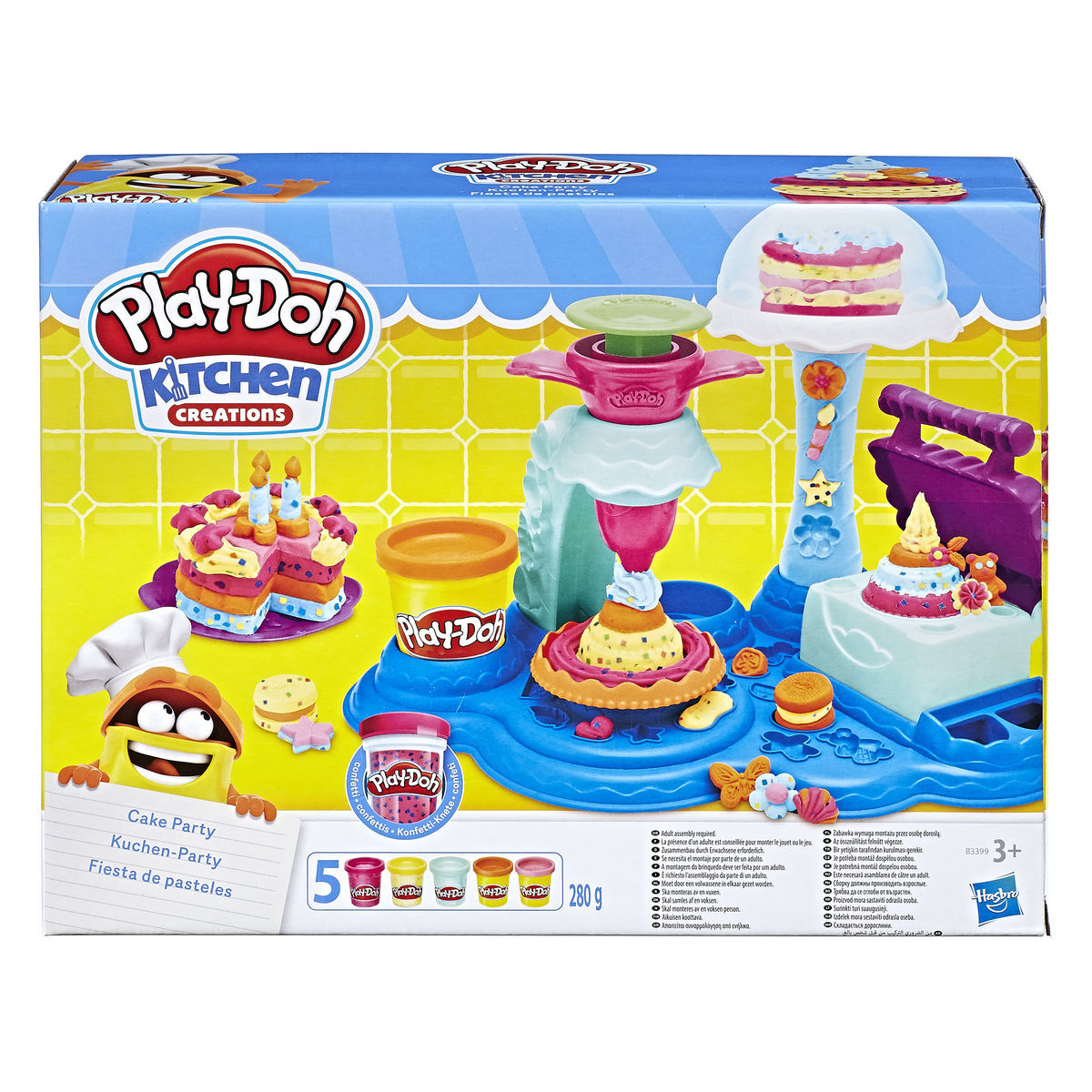 Play Doh Küchenparty Play Doh Kuchen Party