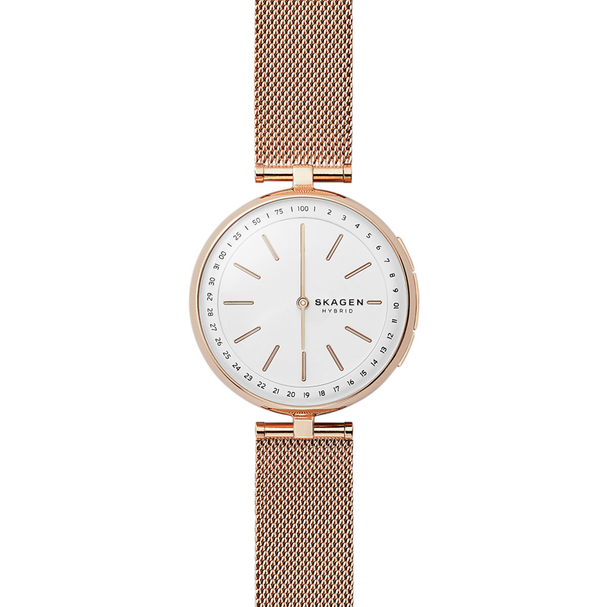 Smartwatch Damen Skagen Connected Damen Hybrid Smartwatch Quotskt1404