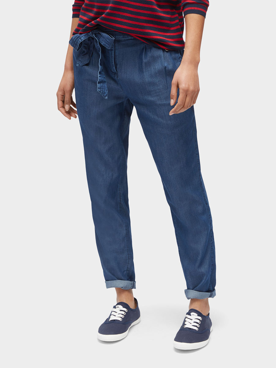 Details About Tom Tailor Men S Chino Trousers Travis With Belt Slim Fit Blue Lunar Tom Tailor Herren Hose Travis Casual Chino W Belt Blau Lunar Eclipse 6911 36 32