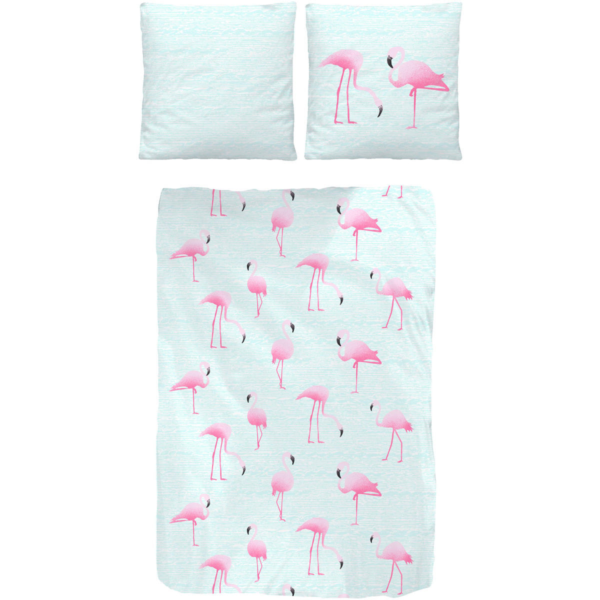 Druck Collect Ido Collection Druck Bettwäsche Flamingo 135x200 Cm