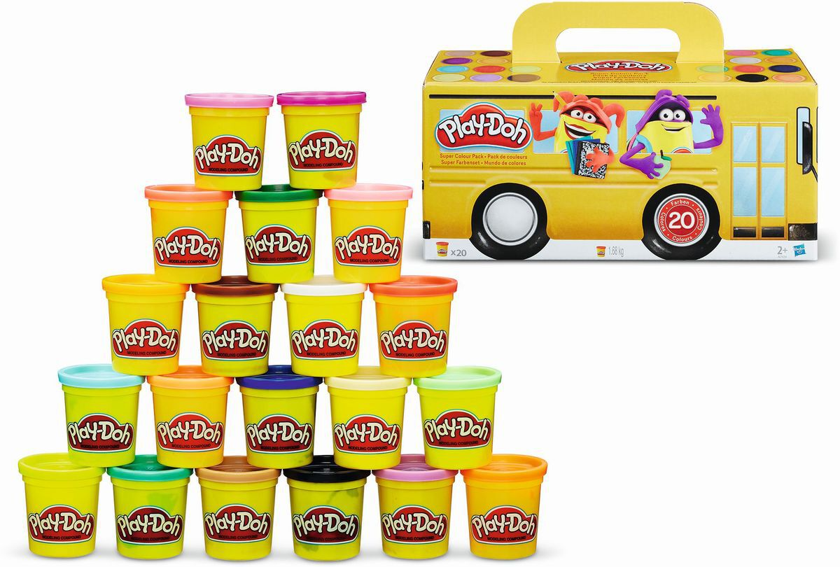 Play Doh Knet Küche Super Farbenset Bts 20er Pack