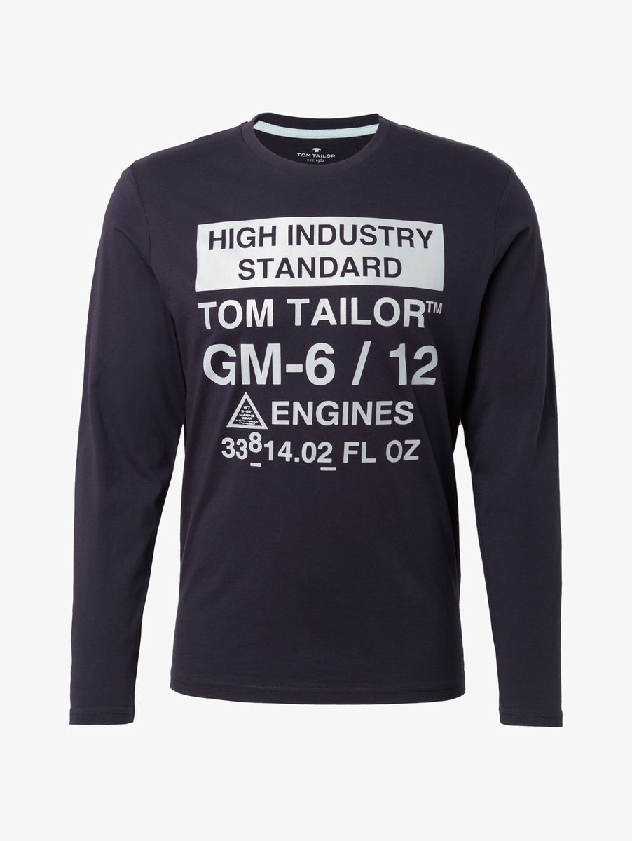 Tom Tailor Denim Men S Tech Parka 411o Long Sleeve Coat Blue Tom Tailor Im Online Shop Bei Karstadt De