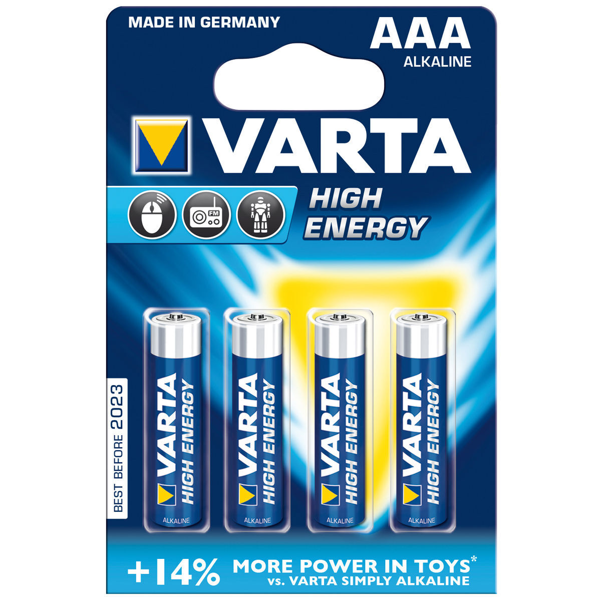 Online Batterien Batterie Aaa Micro 4903 High Energy 4er Pack