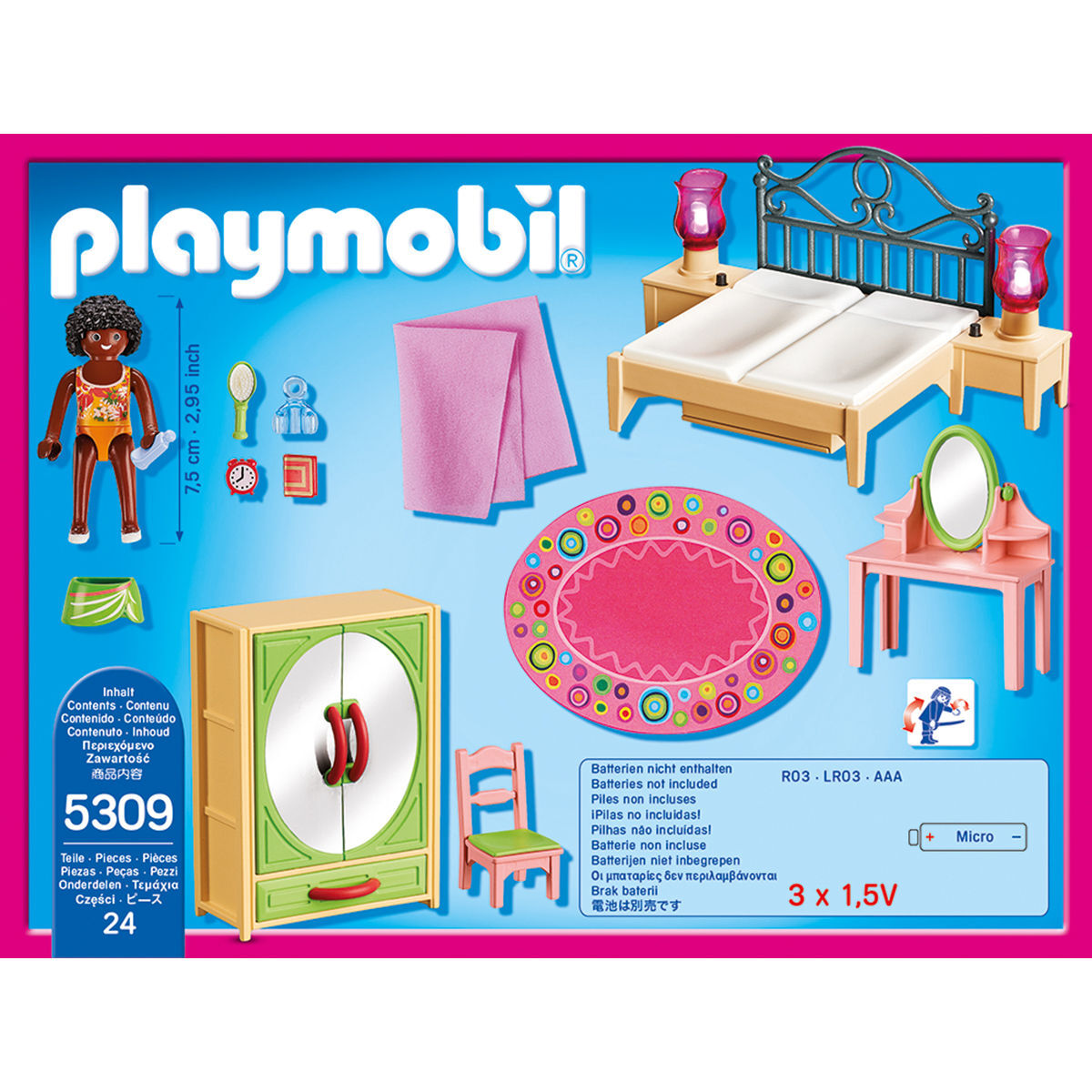 Playmobil Dollhouse Schlafzimmer Playmobil Dollhouse Schlafzimmer Mit Schminktischchen
