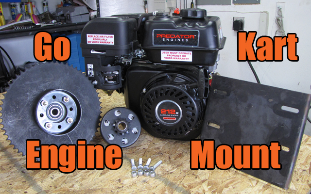 Go Kart Engine Mount How To Install - KartFab