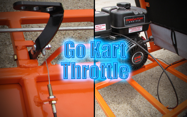 Go Kart Throttle Cable Parts Kit  Setup - KartFab