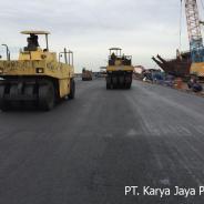Pengaspalan Hotmix Tahap 2 Akses Pelabuhan Solor Bojonegara Serang