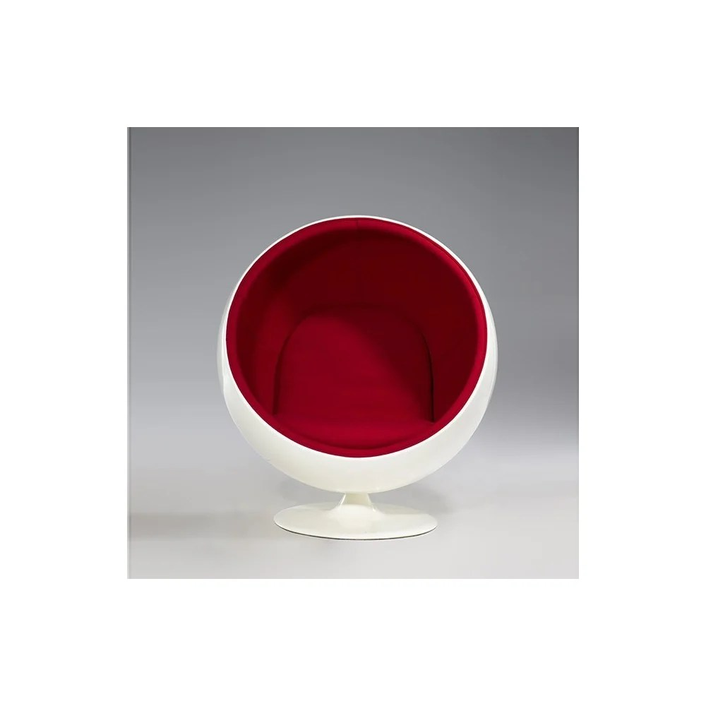 Ball Chair Re-edition Of The Ball Chair By Eero Arnio In Fiberglass, Swivel.