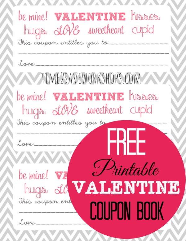 FREE Valentine\u0027s Printable Coupon Booklet! Kasey Trenum
