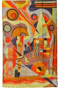 Kandinsky Rugs / Wall Art  Kashmir Pillows