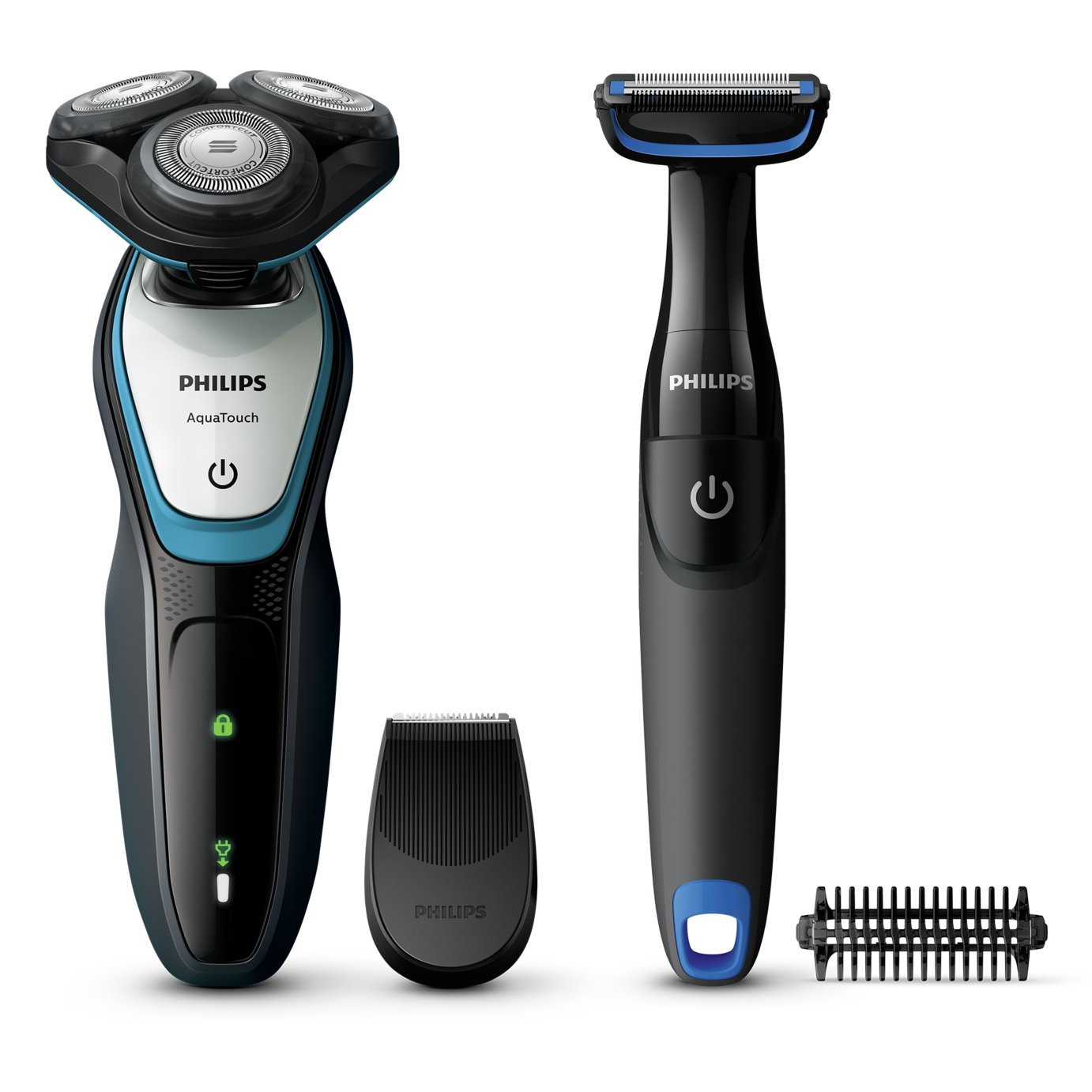 Body Trimmer Philips Series 5000 Wet And Dry Electric Shaver And Body