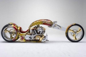 3. Gold Plated Custom Chopper