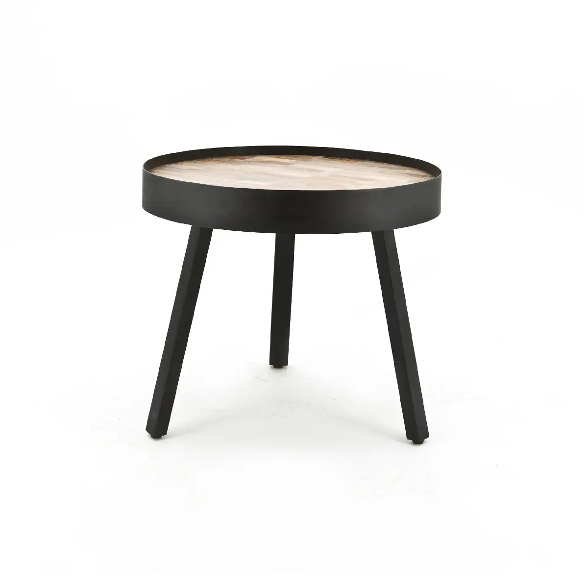Ronde Bankstellen Coffee Table Tripod High 54x54