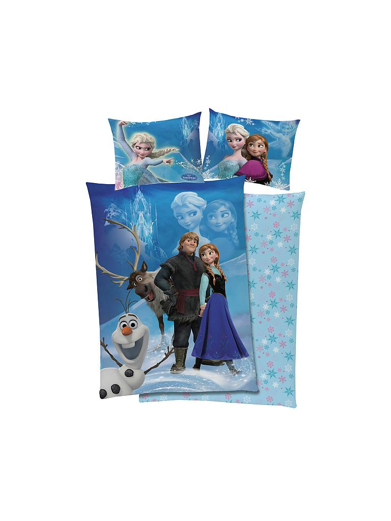 Global Labels Disney Frozen Die Eiskönigin Wende Bettwäsche Set