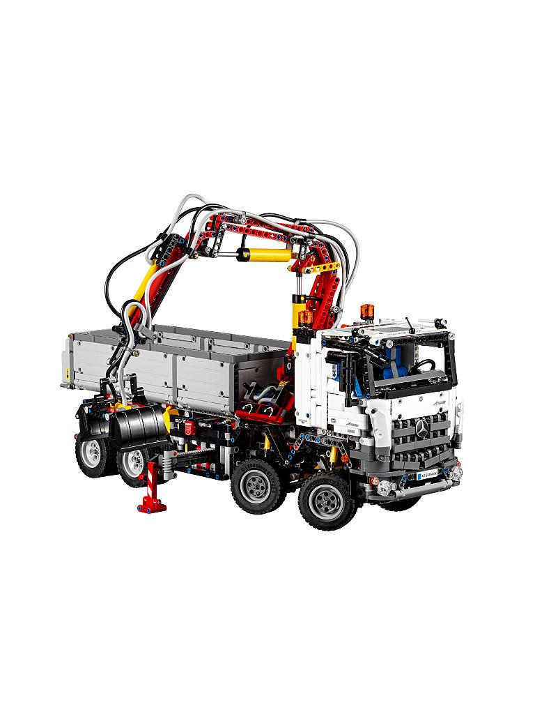 Lego Technic Mercedes Benz Arocs 42043 Transparent