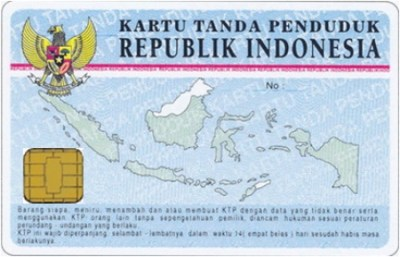 Indonesia National ID Card