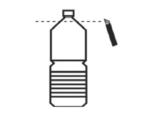 お皿の代用品~ペットボトルからお皿を作る方法~