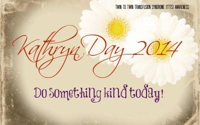 Make someone smile – Kathryn Day 2014