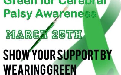 Wear Green For Cerebral Palsy Awareness