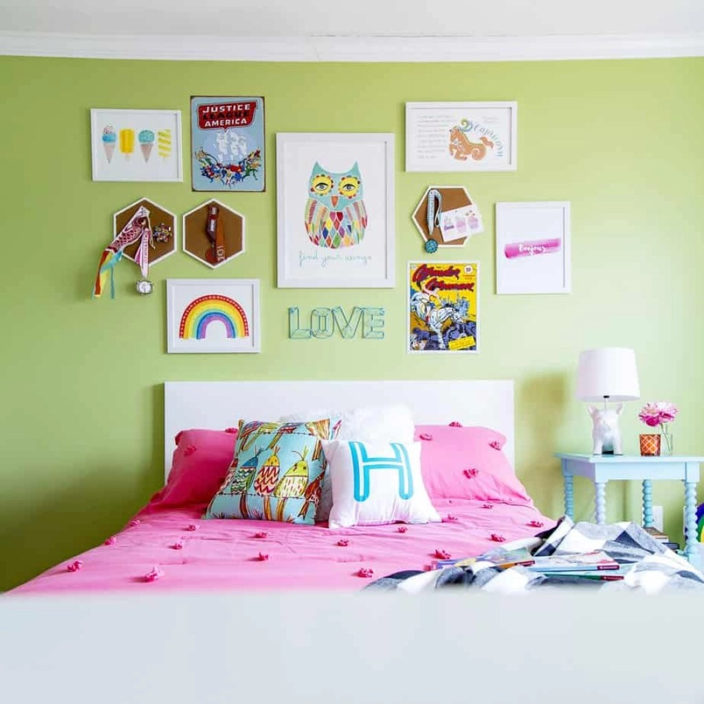 Rainbow Kids Rooms A Six Year Old Girl 39s Colorful Rainbow Hued Bedroom